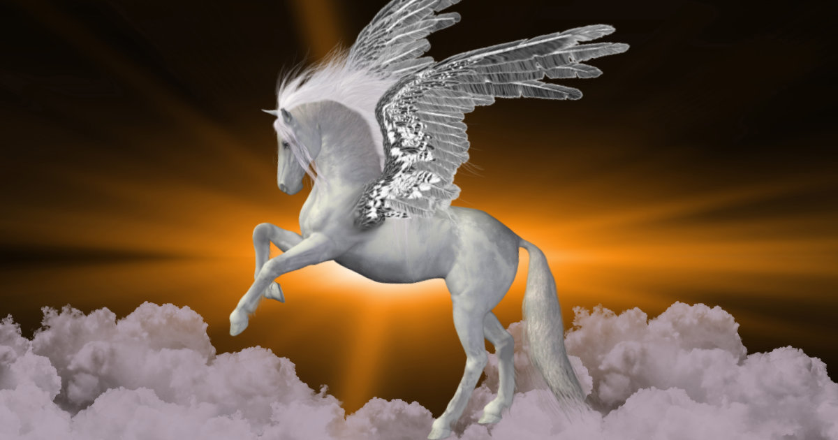 Pegasus the flying horse featured image